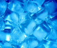 Background with ice cubes Royalty Free Stock Images