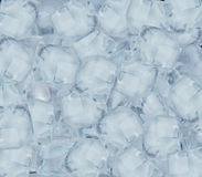 Background with ice cubes Royalty Free Stock Photography