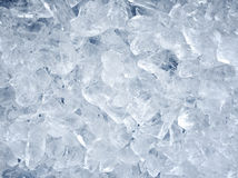 Background with ice cubes Stock Image