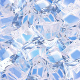 Background with ice cubes. Vector illustration made with gradient mesh.Background with ice cubes royalty free illustration