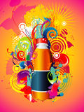 Background illustration Stock Photos