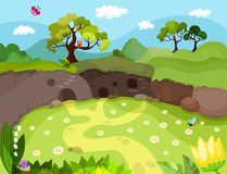 Background. Illustration of a  background Royalty Free Stock Photos