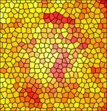 Background illustration of mosaic Stock Photo