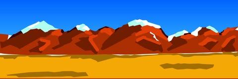 Background illustration of a mountain range Royalty Free Stock Photo