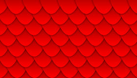 Background illustration with pattern of overlapping scales Stock Photo
