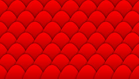 Background illustration with pattern of overlapping scales Stock Images