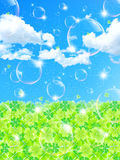 Sky of summer Royalty Free Stock Photo