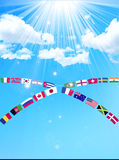 National Flag Royalty Free Stock Images