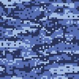 Urban Digital Camouflage Background Illustration Royalty Free Stock Photography