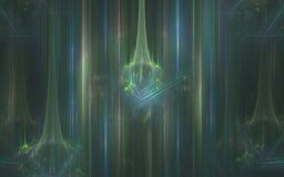 Background image abstract aurora borealis with sparkling figures Royalty Free Stock Images