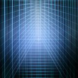 Abstract structural blue light. Background image of abstract structural blue light manipulation Stock Image