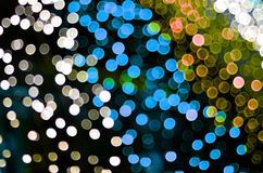 Background image with artistic bokeh effect Royalty Free Stock Images