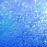 Background image of blue defocused abstract lights Royalty Free Stock Image
