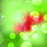 Abstract green  bokeh Royalty Free Stock Photography