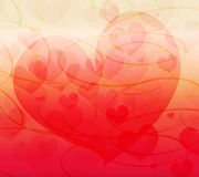 Abstract  love. Background image bokeh love  with colorful .Vector is eps.10 Royalty Free Stock Photography