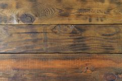 Background image of a brown wooden planks wal. L Stock Images