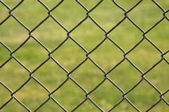 Background image of chain link fence Royalty Free Stock Image