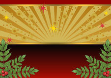 The background image for Christmas cards Royalty Free Stock Photography