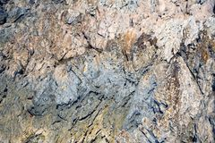 Background image of close up rock surface. Royalty Free Stock Photos