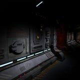 Background image of a dark corridor on bord of Stock Photos