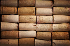 Background image of different wine corks Royalty Free Stock Photo