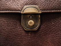 Background Image of genuine leather Stock Photos