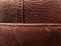 Background Image of genuine leather Stock Photography