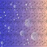 Background image of a gradient color with geometric elements royalty free illustration