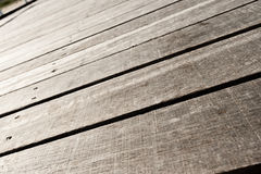 Jetty boards royalty free stock photography