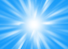 Background image with light beams and rays with blue colors stock photo