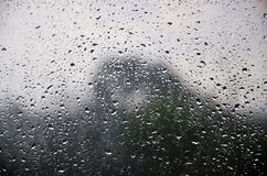 Free Background Image Of Rain Drops On A Glass Window. Macro Photo With Shallow Depth Of Fiel Royalty Free Stock Image - 116534936