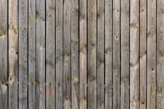 Old wooden fence. Background image of old gray wooden fence royalty free stock photography