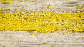 Background image of old yellow wood boards. Texture, background. Stock Images