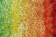Rainbow rug Stock Photography