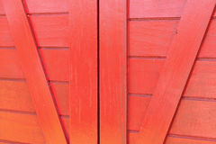 Background image of red wood of house.  Royalty Free Stock Photography