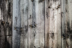 Background image of rough wooden planks. Horizontal location Royalty Free Stock Photo