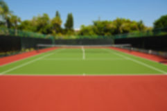 Background Image - Tennis Court Royalty Free Stock Photos