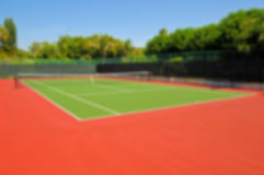 Background Image - Tennis Court Royalty Free Stock Photo