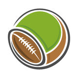 Background image for text on the subject of football Stock Photo