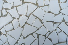 Background image white tiles Royalty Free Stock Photos