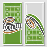Background images for text on the subject of american football Royalty Free Stock Photos