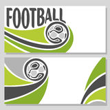Background images for text on the subject of football Royalty Free Stock Photography