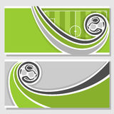 Background images for text on the subject of football Stock Images