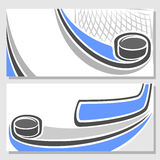 Background images for text on the subject of hockey Royalty Free Stock Images
