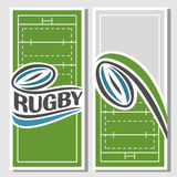 Background images for text on the subject of rugby Stock Photos