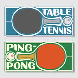 Background images for text on the subject of table tennis Royalty Free Stock Images