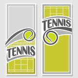Background images for text on the subject of tennis Stock Photo