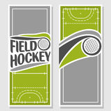 Background images for text on the theme of field hockey. Abstract background images for text on the theme of field hockey royalty free illustration