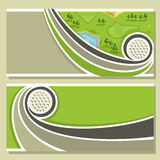 Background images for text on the theme of golf. Abstract background images for text on the theme of golf Stock Image