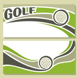 Background images for text on the theme of golf Stock Images
